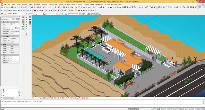 100% DWG U0026 100% IFC Compatible, IDEA Architecture Is The Powerful BIM  Software For 3D U0026 2D Architectural Design, Rendering And Animation, As Well  As For 4D ...